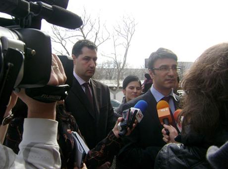 инж. Иван Тотев и Министър Трайков