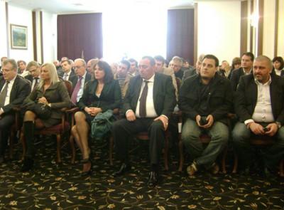 Посещение на Трайчо Трайков - Министър на икономиката енергетиката и туризма.