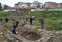Малка базилика - разкопки