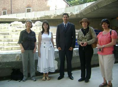 инж. Иван Тотев с партньорите от Норвежкия директорат