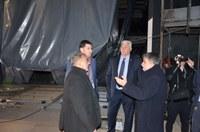 """Инспектираха ремонтните дейности по сградата на Драматичния театър """"Н.О. Масалитинов"""""""