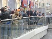 Борисов доволен от Тотев за Римския стадион