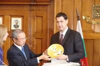 Иван Тотев посрещна японска делегация, кметът на Окаяма идва в Пловдив