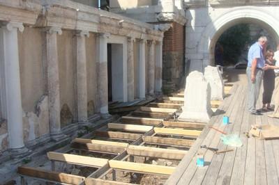 Античен театър - сцена