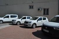 Четири нови автомобила подпомагат работата на три общински звена