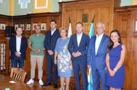 Депутатът от германския Бундестаг Николас Льобел посети Пловдив