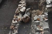 Древна мраморна статуя откриха при разкопките на Римския форум