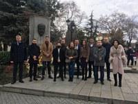 ГЕРБ в Пловдив отбеляза 167 години от рождението на Стамболов