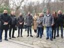 ГЕРБ в Пловдив поднесе цветя и се преклони пред Васил Левски
