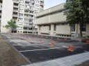 """Готов е поредният паркинг в """"Централен"""", зоната е осветена и облагородена"""