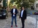 Иван Тотев и Георги Стаменов инспектираха ремонта на централна улица в Пловдив