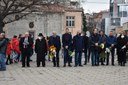 Иван Тотев и кандидати от ГЕРБ се поклониха пред Паметника на благодарността в Пловдив