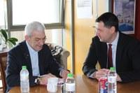 Иван Тотев и Янис Бутарис задълбочават сътрудничеството между побратимените Пловдив и Солун
