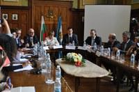 Иван Тотев посрещна делегация на Комисията по култура в Европейския парламент