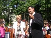Иван Тотев преряза лентата на нова детска площадка в Пловдив