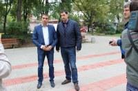 Иван Тотев: Продължаваме да подобряваме парковете и зелените зони в Пловдив