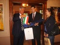 Иван Тотев с медал за приноса му в опазването на римското наследство в Пловдив