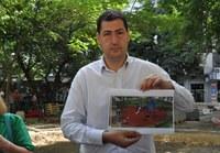 "Изграждат модерна детска площадка в парка пред аптека ""Марица"""