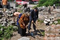 Кметът даде старт на археологическите разкопки на Форума