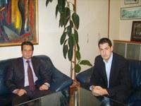 Кметът и директорът на полицията подобряват комуникацията между двете институции
