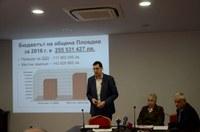 Кметът Иван Тотев: Бюджет 2016 гарантира изпълнението на сериозна капиталова програма