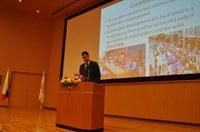 Кметът Иван Тотев чете лекция в Окаяма за пътя към Европейска столица на културата