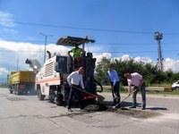 """Кметът Иван Тотев даде старт на нов етап от реконструкцията на """"Асеновградско шосе"""""""
