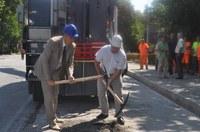 """Кметът Иван Тотев даде старт на преасфалтирането на булевард """"Христо Ботев"""""""