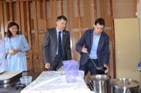Кметът Иван Тотев даде старт на проекта за обществени трапезарии