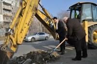 Кметът Иван Тотев даде старт на строителната програма в Пловдив за 2014 година
