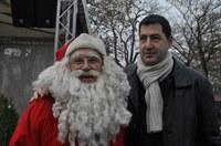 Кметът Иван Тотев откри немския Коледен базар в центъра на Пловдив