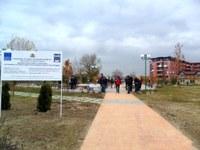 "Кметът Иван Тотев откри новия парк на ул. ""Богомил"""