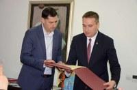 Кметът Иван Тотев посрещна делегация от побратимения полски град Познан