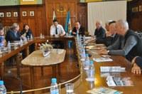 Кметът Иван Тотев посрещна директори на водещи европейски информационни агенции