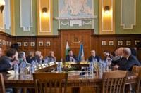 Кметът Иван Тотев посрещна гости от Комисията по култура и образование на Европейския парламент