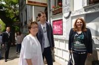 Кметът Иван Тотев посрещна в Пловдив председателя на ЕНП-Жени Дорис Пак