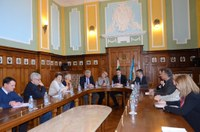 Кметът Иван Тотев посрещна в Пловдив седем посланици на Швейцария в Балканските страни