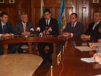 Кметът Иван Тотев представи заместниците си