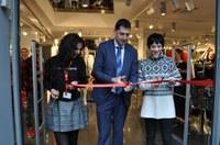 Кметът Иван Тотев преряза лентата на най-новия магазин на Главната
