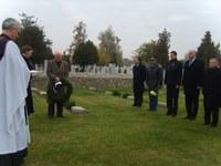 Кметът Иван Тотев присъства на възпоменателна церемония