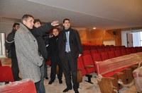Кметът Иван Тотев провери строителството на Градския дом на културата