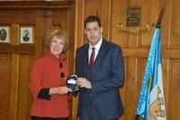 Кметът Иван Тотев с първа официална среща с посланика на Кралство Нидерландия  Н. Пр. Беа тен Тъшър