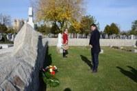 Кметът Иван Тотев участва в традиционната британска възпоменателна церемония в Пловдив