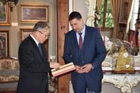 Кметът на Пловдив Иван Тотев се срещна с делегация от Китай