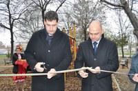 Кметът откри най-голямата детска площадка в Пловдив