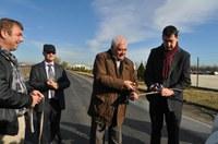 Кметът откри реконструирания път към Овощарския институт