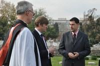 Кметът участва в церемония в памет на загиналите във войните