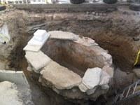 Лазар възкръсва в  гробницата на Филипопол
