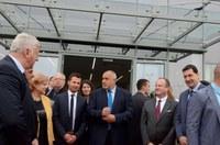 Министър-председателят Бойко Борисов откри нов завод край Пловдив