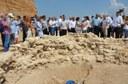 Министър-председателят Бойко Борисов посети уникална гробница край Пловдив